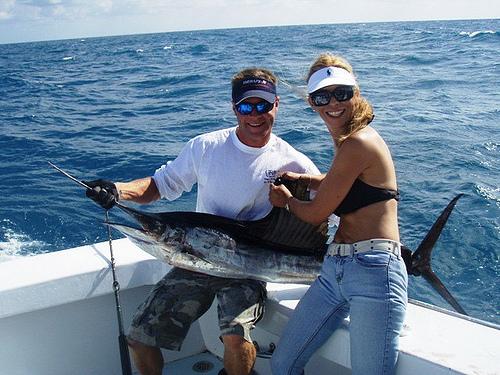 ловля тунца в океане
